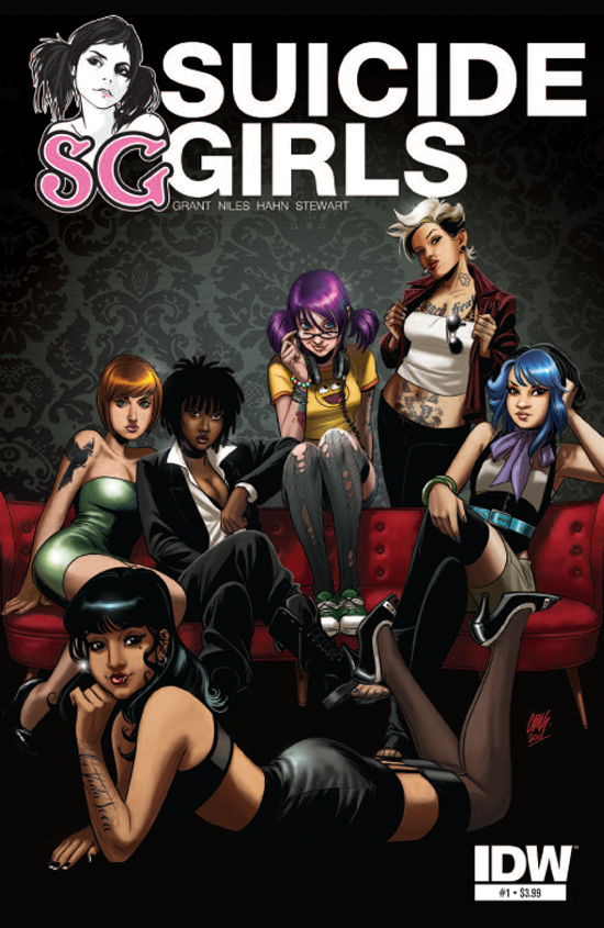 Suicide Girls Issue 1