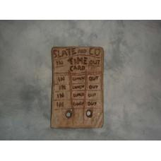 Flintstones Time Card Kit